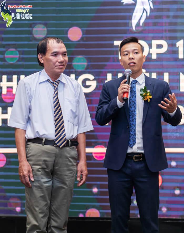 Lương y Vũ Đức và anh Đặng Xuân Lộc